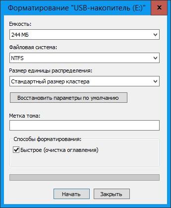 Не форматируется карта памяти microsd что делать
