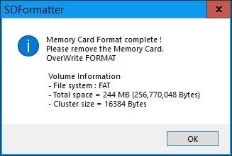 Как правильно форматировать microsd